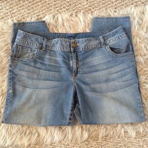❤️3/15 Lane Bryant Genuis Fit Ankle Stretch Jeans
